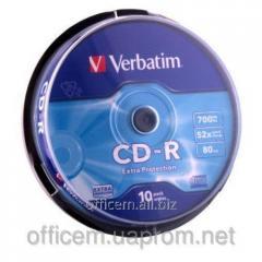 Disk CD-R 700MB cake box (10)