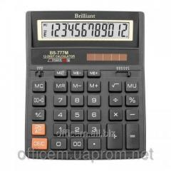 Calculator 12 razr. BS777, (205x159x15 (31) mm)