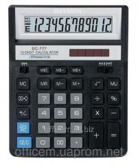 Calculator 12 razr., DC-777BK (8470100000)