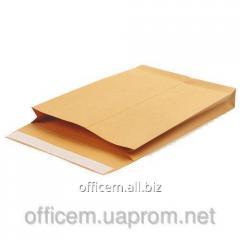 C4 envelope, 130g/sq.m SKL, Kraft side. with