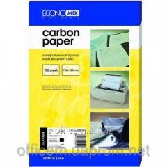 A4 carbon paper, black (100 l) (E20501-01)