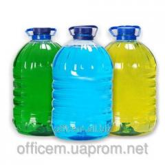 Detergent for washing of ware of