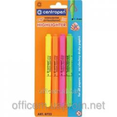 Set of markers of text Fax (4 pieces), (1-4th),