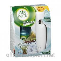 Freshmatic air freshener freshness of falls, bus,
