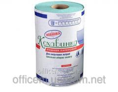 Paper towels roll, green, 215 * 135 (300
