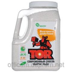 Reagent deicing fast action of TOR, granules, 4 kg
