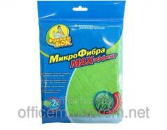 Napkin for cleaning universal microfiber, 30х30 cm