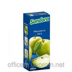 Sandora juice apple (250 ml) tetrapackage