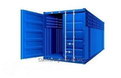 Специальный контейнер 20-футовый вентилируемый  VC