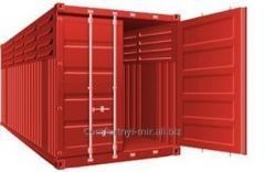Специальный контейнер 40-футовый вентилируемый  VC