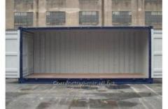 Специальный контейнер 20-футовый боковое раскрытие  Lateral Opening