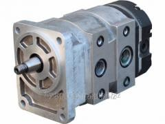 Hydraulic pump the combined Claas