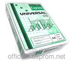 A4 paper, 80 g/m2 of CAPTAIN Universal 500 of l,