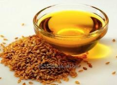 The linseed not refined technical oil