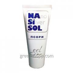 Мазь от псориаза Nano Silver Sol Псори (нано сильвер сол)