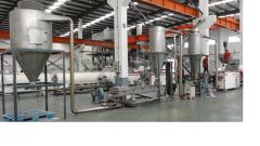 Line of SJZ55/110 PVC of granulation
