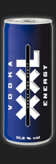 Alcoholic beverages Vodka XXL Energy of 8,5% Alc