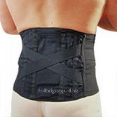 Bandage the supporting corset (black)