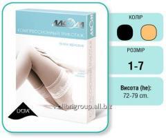 Stockings female compress. with otkr. toe
