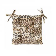 Подушка на стул 40х40см Леопард