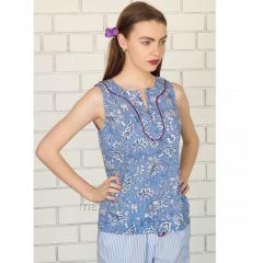 Blouse with a pattern. A design jacket from Alyona