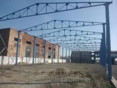 Hangar from a metal construction, 18х60 m