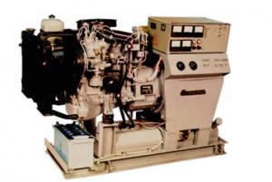 The unit stationary U98 - the diesel VAZ-3413