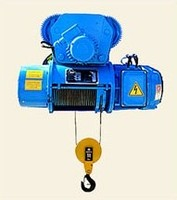 The telpher electric loading capacity is 2 t.,