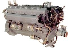 Auxiliary marine diesel 7D12, 7D12-Ch for the