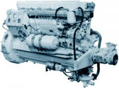 Auxiliary marine diesel 7D6, 7D6-150, 7D6-150AF