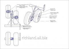 Lever assembled KK1-00770-00 SB