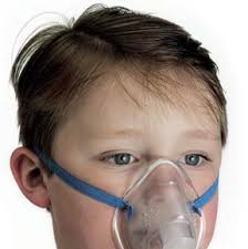 Children's aerosol mask with the MaxiNeb