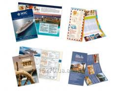 Advertizing printed materials