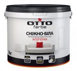 Craca Otto of snow-white interior acrylic 1.4 kg