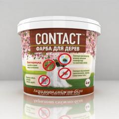 Акриловая краска для деревьев 1.4 кг Днепр Контакт