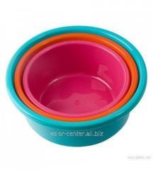 Bowl of plastic 10 l food