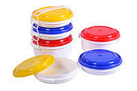 Containers for food of 2 pieces x 1 l and 1 piece