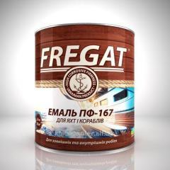 Эмаль ПФ-167 Fregat салатовая 0.9 кг