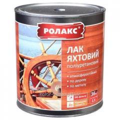 Varnish yacht polyurethane TM of Rolaks 0,8l