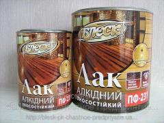 Varnish of alkidny durable glossy PF-231 0.7 kg