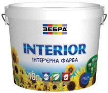 Acrylic interior paint resistant to washing of 2.5