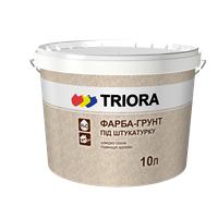Краска-грунт под штукатурку 10 л Triora