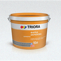 Paint slate acrylic Triora of red-brown 10 l