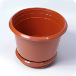 Flowerpot with a support of 1 l