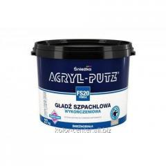 Acryl-putz filling Finish of 0.5 kg