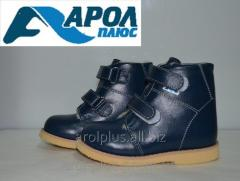 Winter orthopedic boots for the boy and the girl