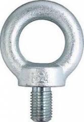 Eye bolts, rigging, eye GOST bolt, eye bolt price,