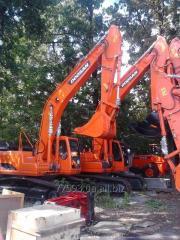 Una nueva excavadora Doosan SOLAR de oruga 255
