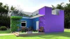 Модульный дом по проекту «Alfa»