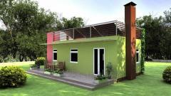 Модульный дом по проекту «Betta»